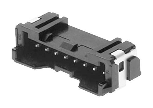 505575-0671 - Wire-To-Board Connector, 2 mm, 6 Contacts, Header, Micro-Lock PLUS 505575 Series, Surface Mount, (Pack of 100) (505575-0671)