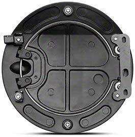for Mustang 2005-2009 Black SpeedForm Bullitt Style Fuel Door