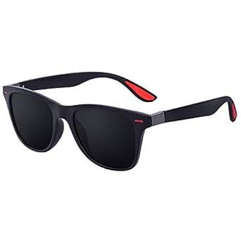 Amazon.com: GUVIVI Gafas de sol unisex polarizadas clásicas ...