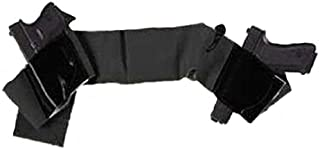 product image for Galco UWBKXL Underwraps Belly Band (Black, Ambi)