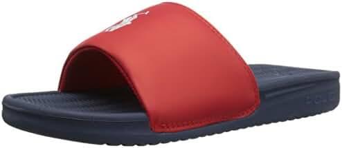 Polo Ralph Lauren Kids Kids' Remi Slide Nvy/Red Band/Wht PP Sandal