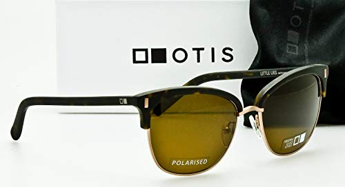 4fd695c6b39 OTIS Eyewear Little Lies   Matte Dark Tort Brown Polarized Unisex Sunglasses