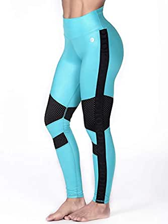 Protokolo High Waisted Fitness Leggings for Women S/M