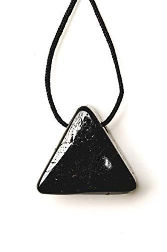 Pratt Daddy Crystals Black Tourmaline Triangle Pendant