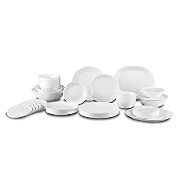 Corelle Winter Frost White Dinnerware Set with Storage Lids (74-Piece Service for  sc 1 st  GoSale.com & dinner set corelle | Compare Prices on GoSale.com