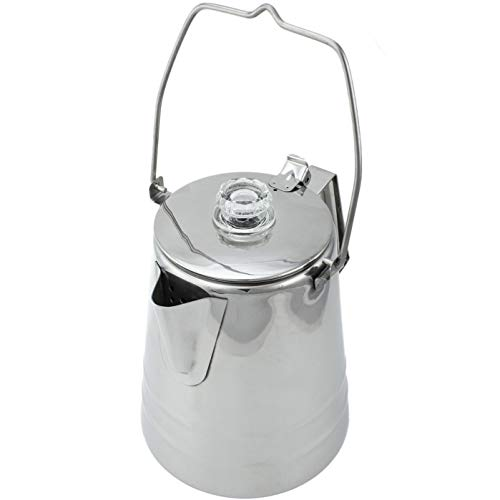 Coletti Butte Camping Coffee Pot | Campfire Coffee Pot | Camping Percolator