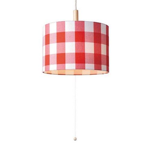 TRICOT 3BULB SET PENDANT LAMP [トリコ / チェック×レッド] B00NH8NMTI