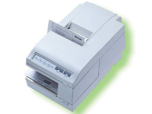 TM-U375 Impact Receipt Slip & Validation 5.4 lps Serial interface White (Certified Refurbished) (U375 Receipt Printer)