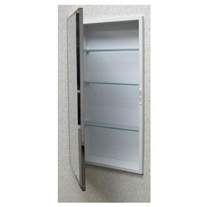 Superieur Recessed Medicine Cabinet, Stainless Steel, ...
