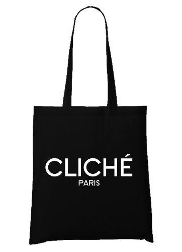 Clichè Paris Bag Black