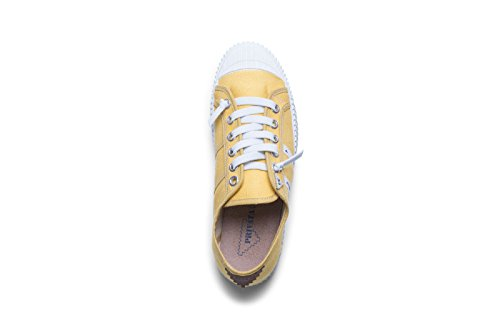 Bambina 004 yema Amarillo Mujer Para Zapatillas Privata S6qwBO6