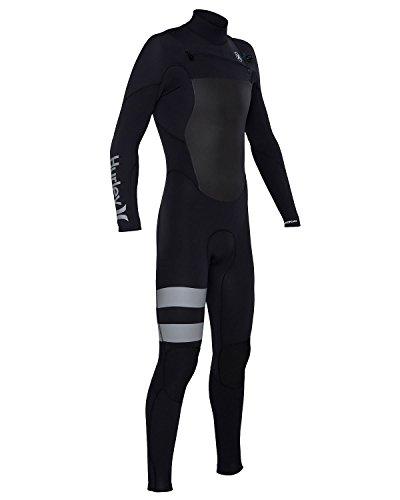 Hurley BFS0000040 Mens Fusion 302 Fullsuit,Black,10