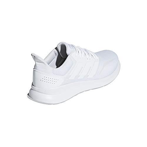 Bianco Two Uomo Adidas Ftwr F17 grey ftwr White Scarpe F17 Running White Da ftwr Runfalcon qxTwHnTf