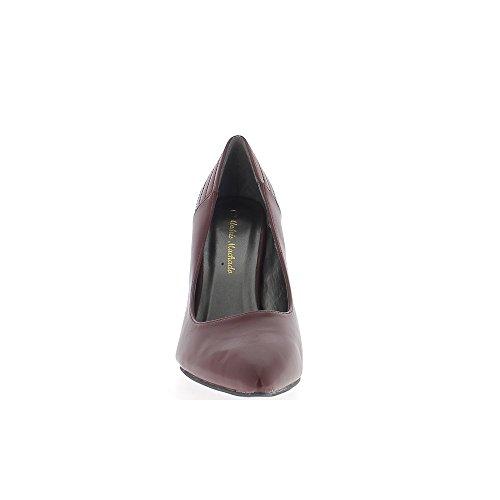 Cm Sharp Scarpe Al Tacco Grande Taglia Bordeaux 12 C4xnxOq0Sw