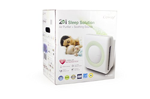 Coway 2-in-1 Air Purifier and White Noise Machine, AP-0512NH