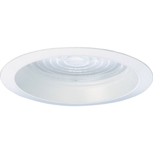 Progress Lighting P8034-83FB Regressed Fresnel Trim UL/CUL Listed For Wet Locations, White