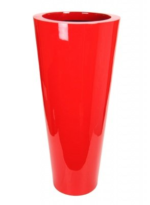 Le Present J195120.061 L Red Fiber Pot Cone44; 47.2 x 20.5 in. by Le Present