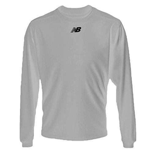 New Balance Youth Long Sleeve Power Top (X-Large, Grey)
