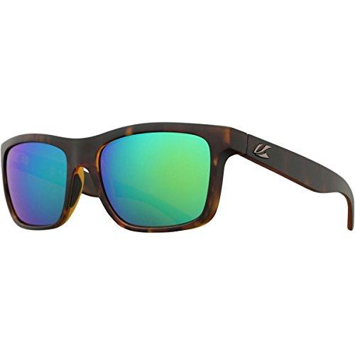Kaenon Adult Clarke Sunglasses, Matte Tortoise / Coastal Green, One - Sunglasses Coastal