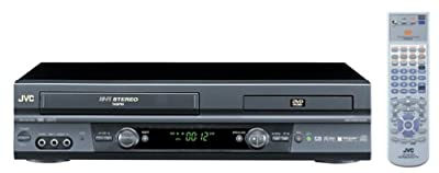 JVC HR-XVC20U Hi-Fi DVD-VCR Combo , Black from JVC