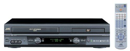 JVC HR-XVC20U Hi-Fi DVD-VCR Combo, Black