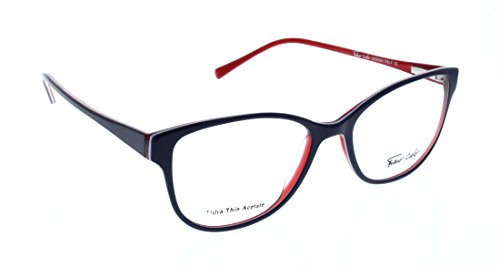 FABIO CIELO (# 5855) Italian Design Eyeglasses 50mm, Elegant Ladies/ Women RX Prescription Optical Frames Authentic Glasses Includes Case, Design In Italy (Dark - Italian Mens Eyeglasses
