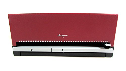 Red DiscGear Selector 100 DVD CD Storage Case