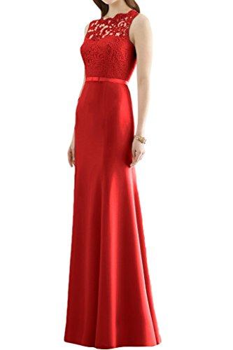 Missdressy -  Vestito  - linea ad a - Donna rosso 64