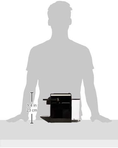 De'Longhi 203549 Inissia Cafetière à Capsules Nespresso, Noir