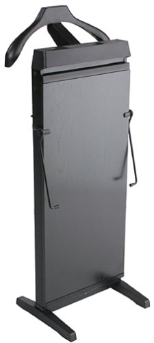 Corby 3300B Pants Press with Automatic Shut Down and Manual Cancel Options, Black Ash Finish