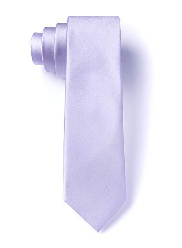 Lavender Silk Boys Tie   Lavender Boys Necktie