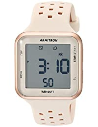 18cbd30e7739 Armitron Sport Unisex 40 8417 Digital cronógrafo correa de silicona reloj