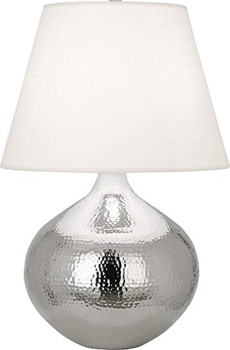 - Robert Abbey Dal Polished Nickel Vessel Table Lamp