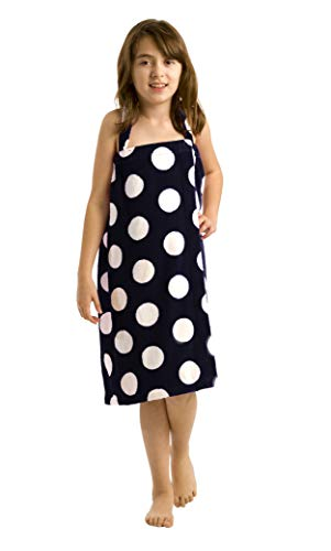 byLora Terry Cotton Girls Cover Up, Black, Small