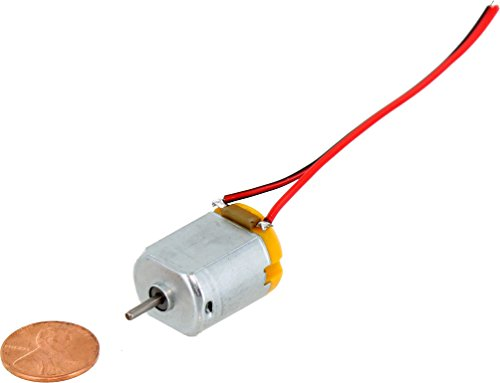 Mini DC Motor - Type 130 - 1.5-6V with leads