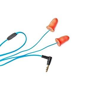 Plugfones Ear Plugs / Earbuds - 1st Generation (Orange)
