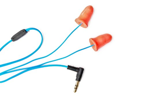 Plugfones Ear Plugs/Earbuds - 1st Generation (Orange)