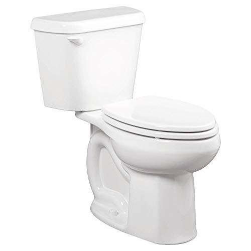 American Standard 221CB004.020 Colony 1.6 GPF 2-Piece Elongated Toilet with 10-In Rough-In, 2, White