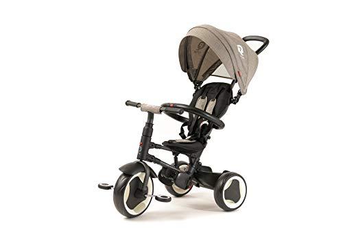 (Q Play Rito Foldable Stroller/ Trike (Grey))