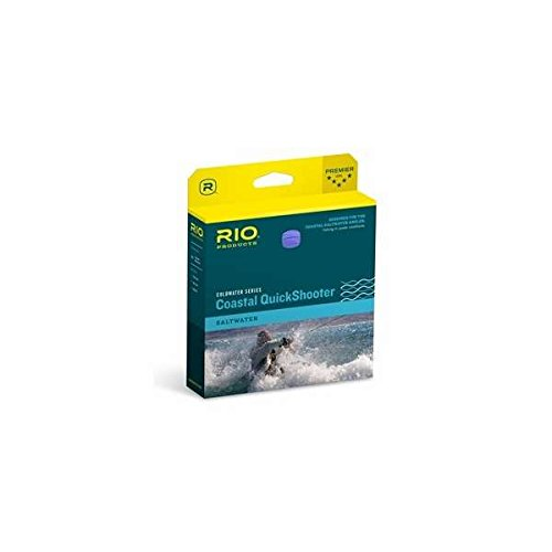 RIO Products Fly Line Coastal Quickshooter Wf8I, Clear/Chartreuse