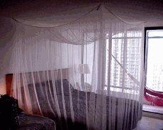 Nicamaka Manila No See Um Bed Canopy - Black & Amazon.com: Nicamaka Manila No See Um Bed Canopy - Black: Home ...