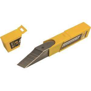Olfa North America Olfa LB-50B 18mm 8Pt Snap Off Blade 50Pk - 6ct. Case by Olfa North America