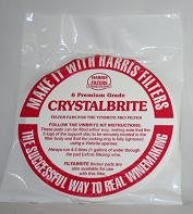 Harris Crystalbrite Filter Pads 5-pack Use with Harris Vinbrite MK3 Filter Kit