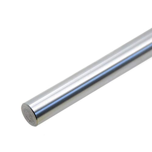 - ReliaBot 12mm x 400mm (.472 x 15.75 inches) Case Hardened Chrome Plated Linear Motion Rod Shaft Guide - Metric h8 Tolerance