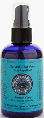 mer Camp - Bug Repellent for Kids (4 oz Spray Bottle) Natural Insect and Tick Bug Repellent - Safe for Kids, Made with Essential Oils from Herbal Plants, DEET-free, No-Citronella ()