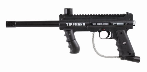 Tippmann 98 Custom Platinum Series .68 Caliber Paintball Marker with ACT (98 Custom Cyclone Feed)