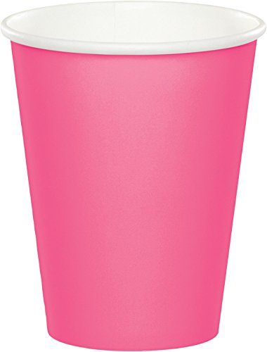 Creative Converting Paper Hot/Cold Cups, 9-Ounce., Candy Pin