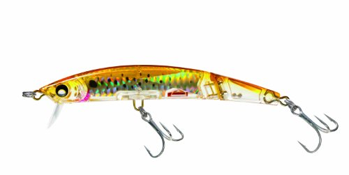 Yo-Zuri Crystal 3D Minnow Deep Diver Jointed Floating Lure, Holographic Bunker, 5 1/2-Inch ()