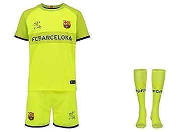 quality design 0891a 9c46d FC Barcelona Trikot Kinder Aus 18/19 - Trikotsatz - Günstig ...