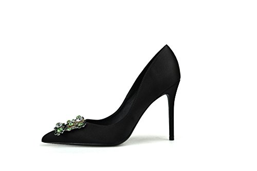 Korkokengät Musta Tikari Kengät Prom Naisten 6cm Satiini Ccbubble 6zSqd6
